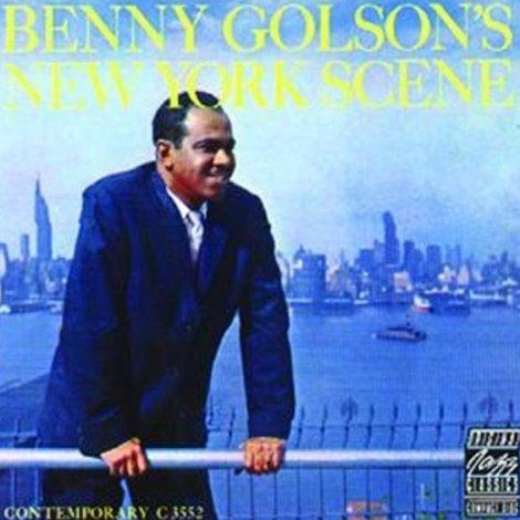 AlbumcoverBennyGolson-NewYorkScene