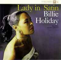 Lady-in-satin