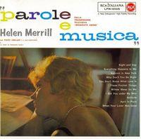 Helen+Merrill+-+Parole+E+Musica