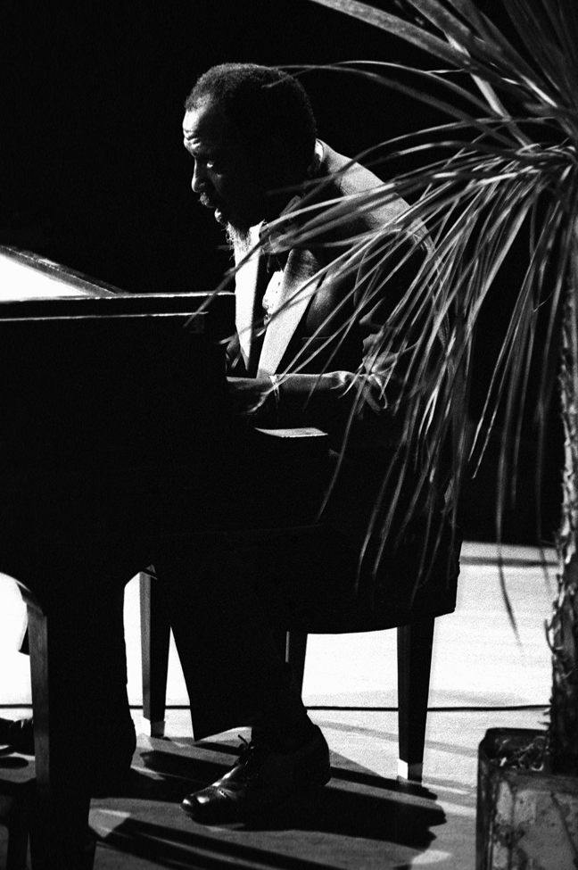 Monk Thelonious Monterey Jazz Festival 1972 ©Paul Slaughter