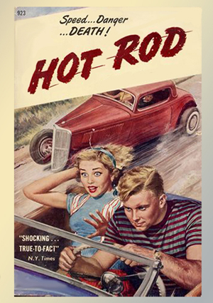 Hot rod cover web