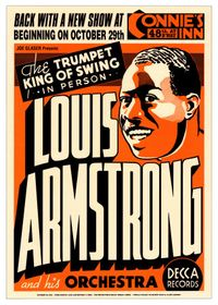 Armst~Louis-Armstrong-at-Connie-s-Inn-New-York-City-1935-Posters
