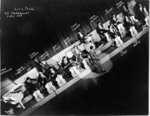 Louis Prima early 1948 Paramount NY