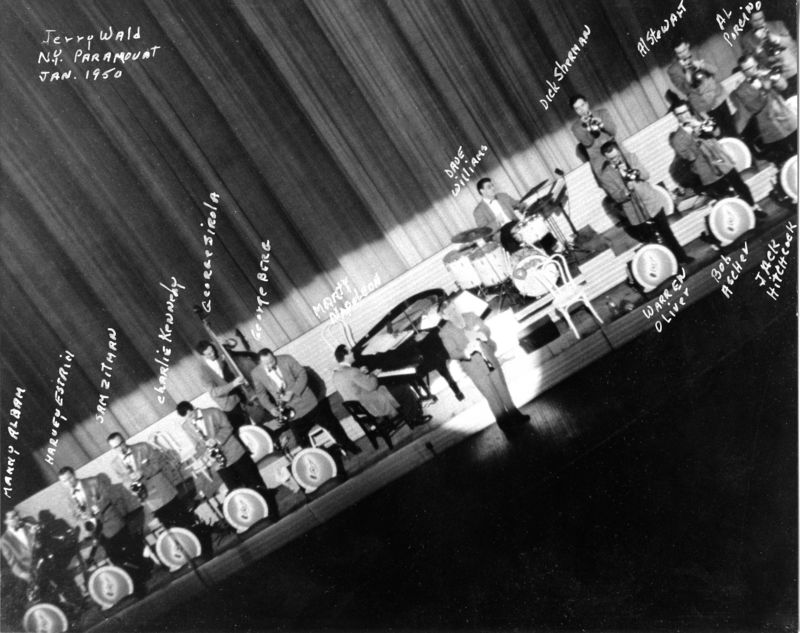 76 Jerry Wald Paramount Theater 1953