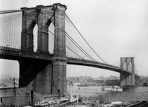 Brooklyn bridge-photo-B&W-Resized