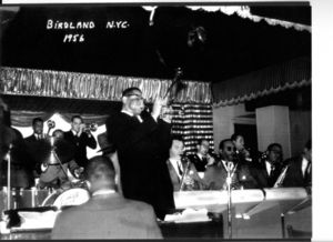 Dizzy at birdland