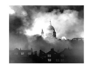 1099868~St-Paul-s-Cathedral-During-London-Blitz-1940-Posters