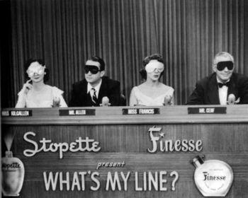 Dorothy+Kilgallen_+Steve+Allen_+Arlene+Francis+_amp_+Bennett+Cerf+on+WHAT_S+MY+LINE