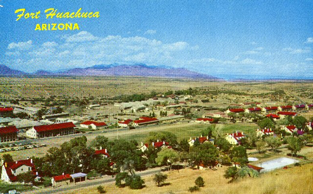 Fort Huachuca Post Card