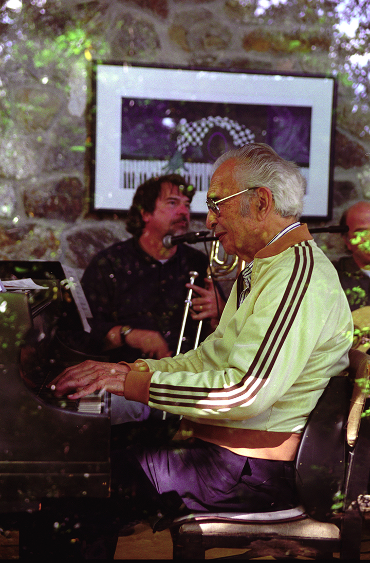 HO_Dave Brubeck at home in CT (2006)