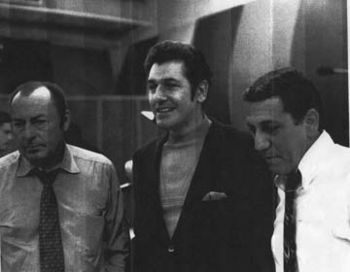 Frank, Woody Herman and Dick LaPalm