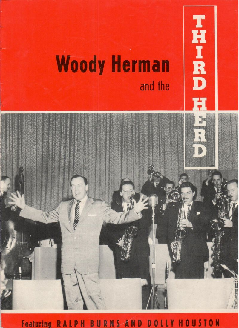 Woody herman and the third herd brochure cover