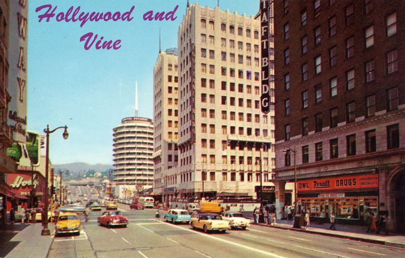 Hollywood & Vine, Hollywood