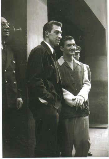 Jazz Photo-Buddy De Franco-Conte Candoli (1947)