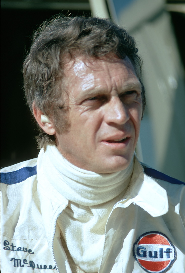McQueen Steve Ontario Motor Speedway 1972© Paul Slaughter