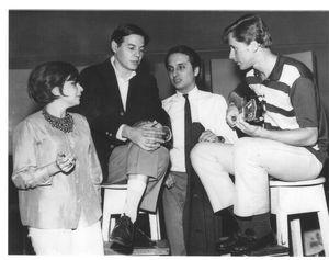 Sylvia Telles, Tom Jobim, Roberto Menescal e Marcos Valle (1964-65)