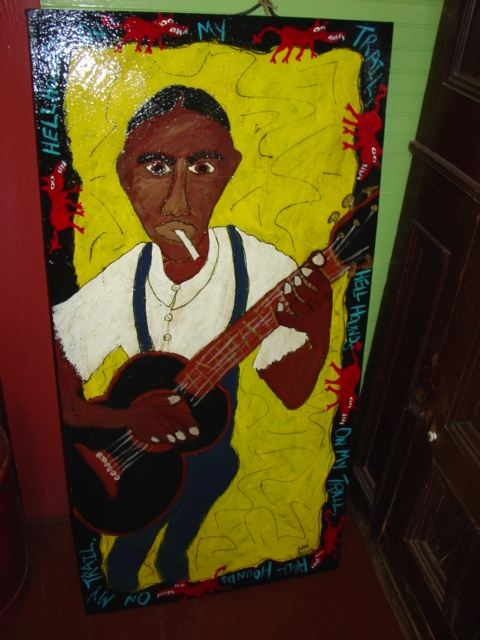 Mixed Media Robert Johnson 2ft x 4ft