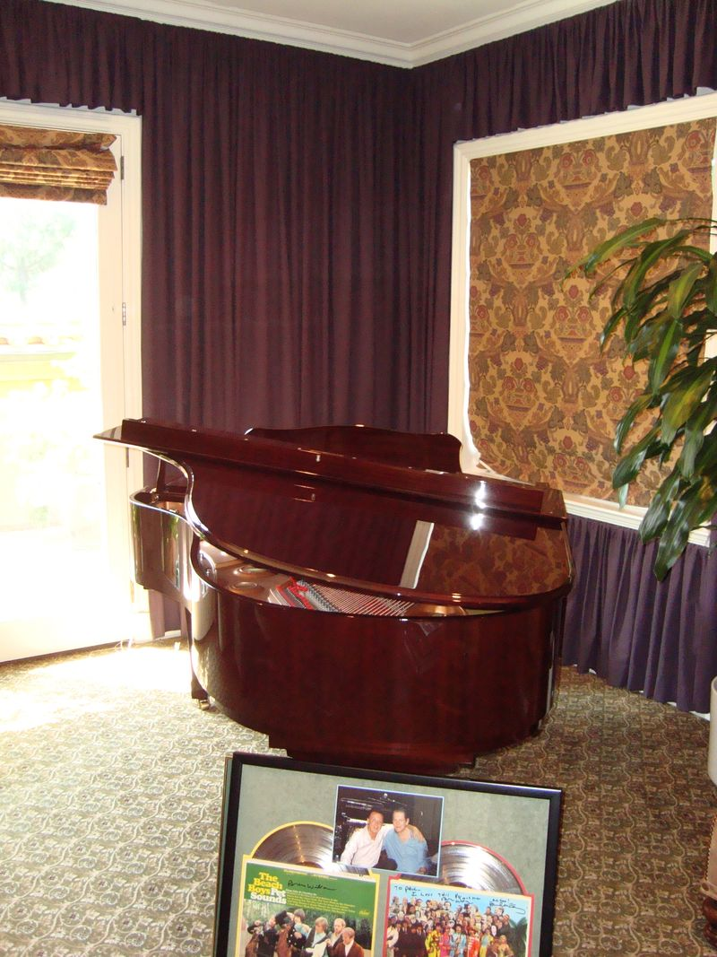 Brian Wilson's piano by Marc Myers