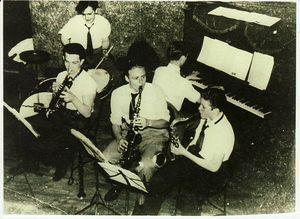 Sol Schlinger in high school on tenor
