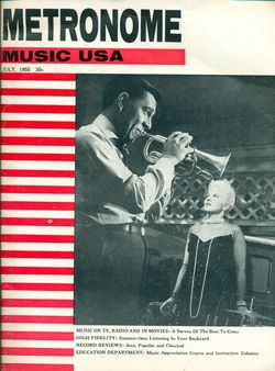 Metronome-July 1955-Cover