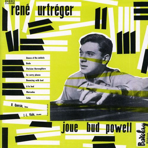 Urtreger-rene-joue-bud-powell-jazz-in-paris-collection-cd