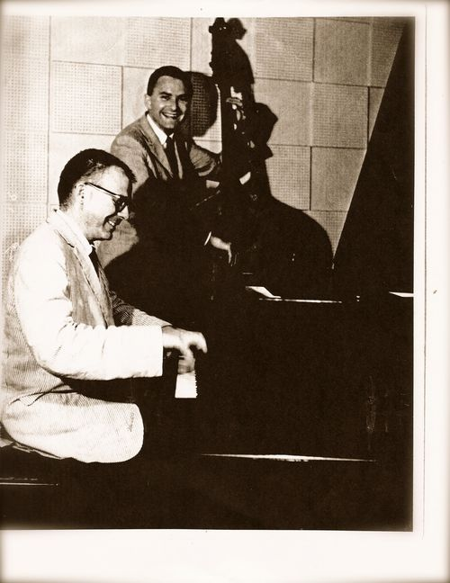 Forrest Westbrook (piano) and Von Whitlock(bass)