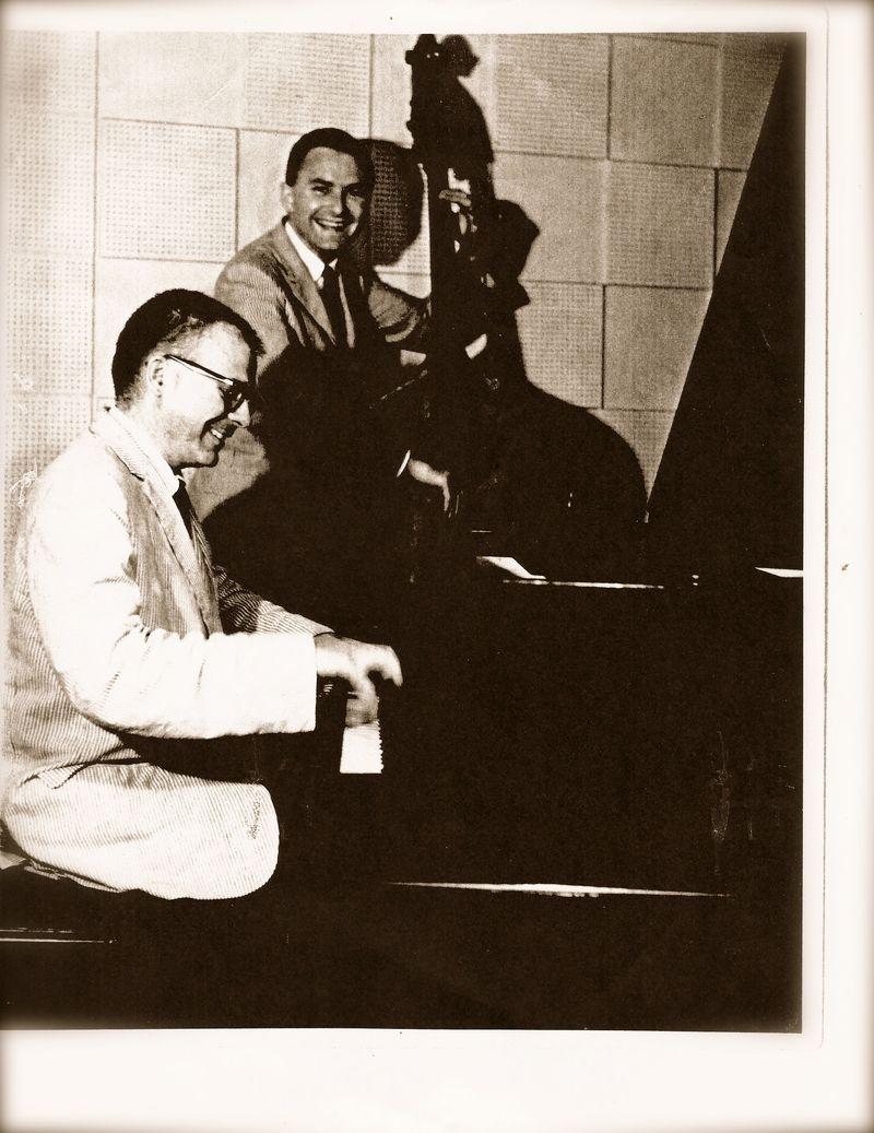 Forrest Westbrook (piano) and Von Whitlock(bass)