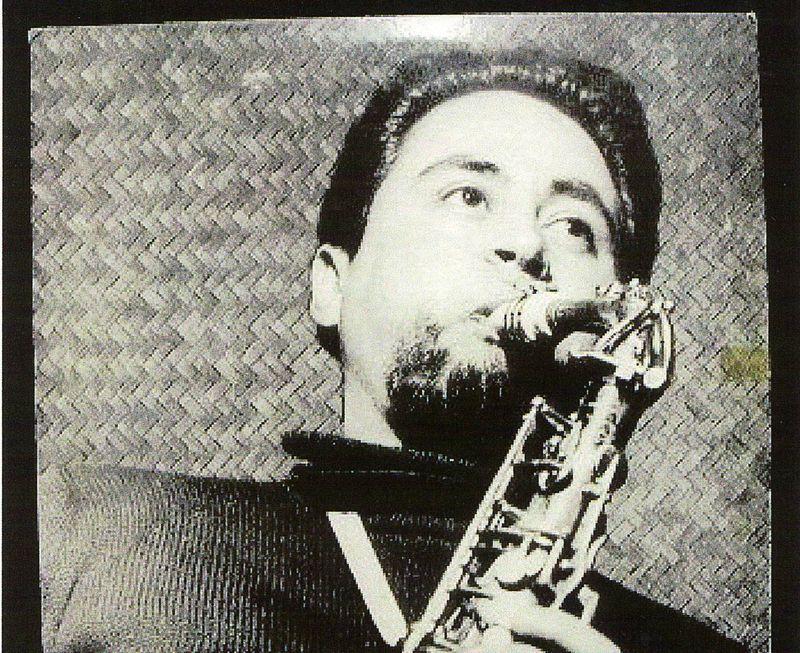 Anthony Ortega in 1954, publicity for quartet album