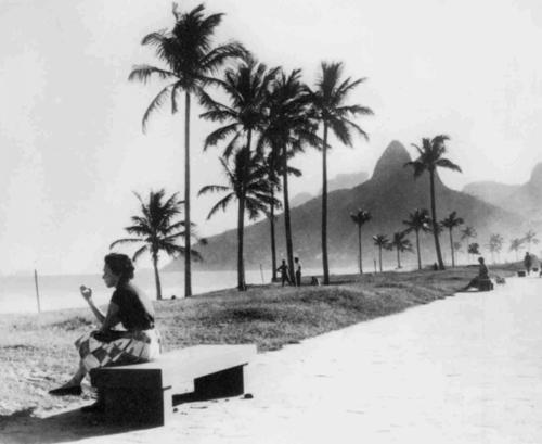 Praia de Ipanema-anos50