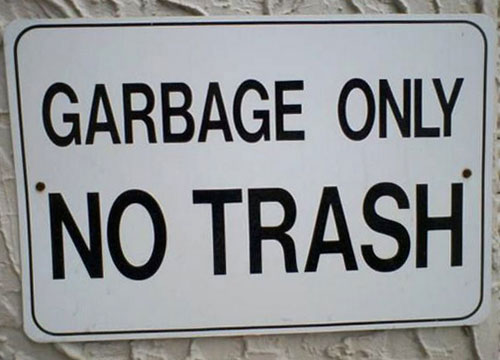 Confusing-sign-garbage-only