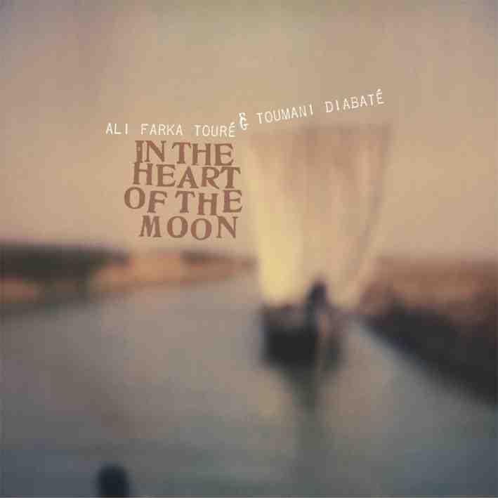 Ali Farka Toure & Toumani Diabate - in the heart of the moon - cover