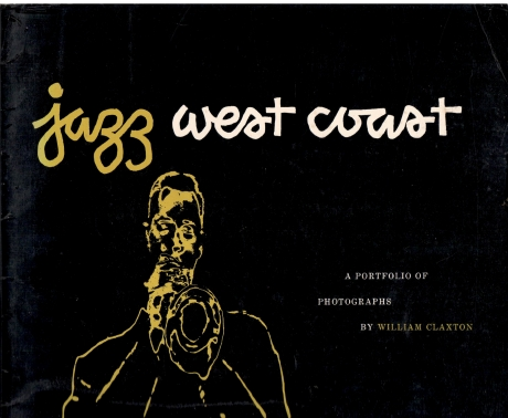 William claxton deel cover foto boek west coast jazz