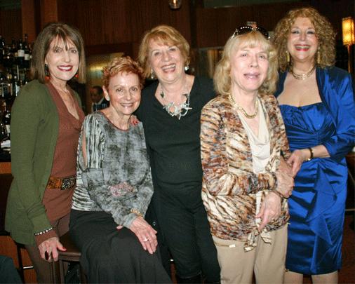 Carol Fredette, Marlene Ver Planck, Anne Phillips, Helen Merrill, Daryl Sherman-Jim Eigo