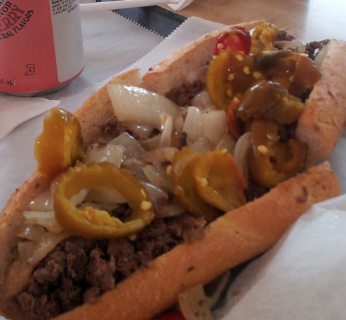 Marc Myers—Jim's Cheesesteaks, Philly
