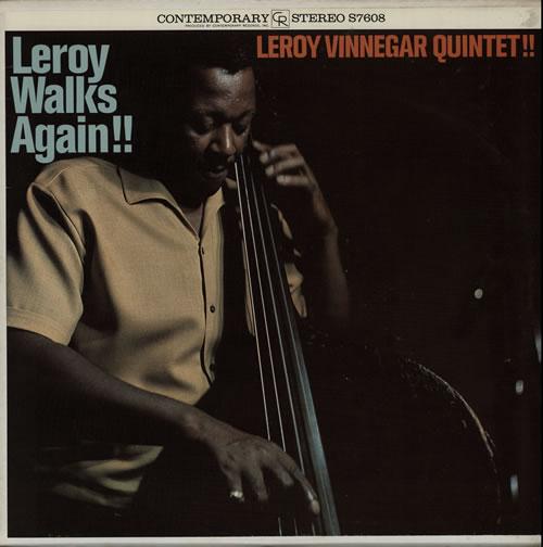 Leroy+Vinnegar+-+Leroy+Walks+Again!+-+LP+RECORD-565662