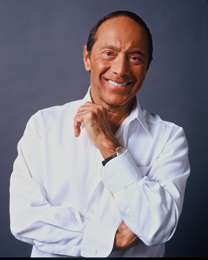 Paul Anka White shirt - Factor