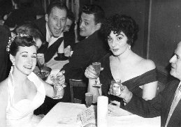 Paula Castle (on the right) 1950's