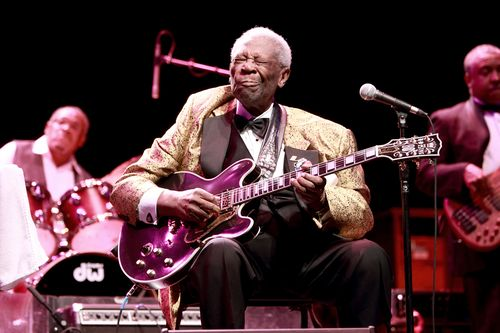 BB King - Oct 27, 2013 by Mike Worthington