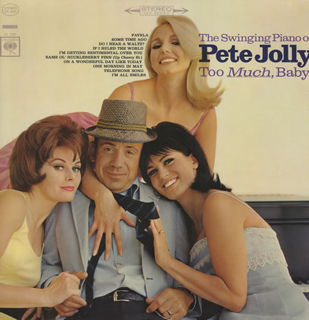 Pete+Jolly+-+Too+Much,+Baby!+-+LP+RECORD-370513