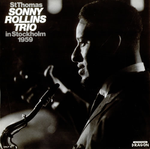 Sonny+Rollins+-+St.+Thomas+-+LP+RECORD-532557