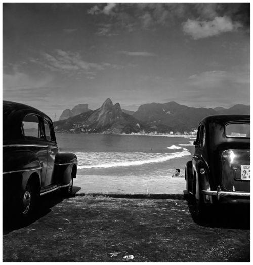 Josc3a9-medeiros-chroniques-brc3a9siliennes-praia-do-arpoador-rio-de-janeiro-1952