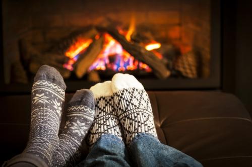 Fireplace-coziness