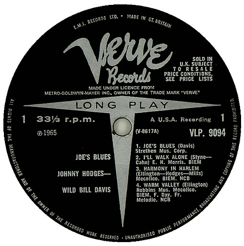 WILD_BILL_DAVIS_&_JOHNNY_HODGES_JOES+BLUES+-+FACTORY+SAMPLE+-+MONO-450014b