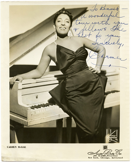 Image result for Carmen McRae Is Dead at 74; Jazz Career Spanned 5 Decades