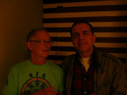 Hugo Fattoruso & Arnaldo DeSouteiro (photo by Patricia Balaban)