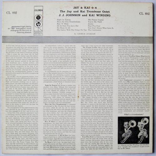 J.J. Johnson and Kai Winding + 6 (1956) copy