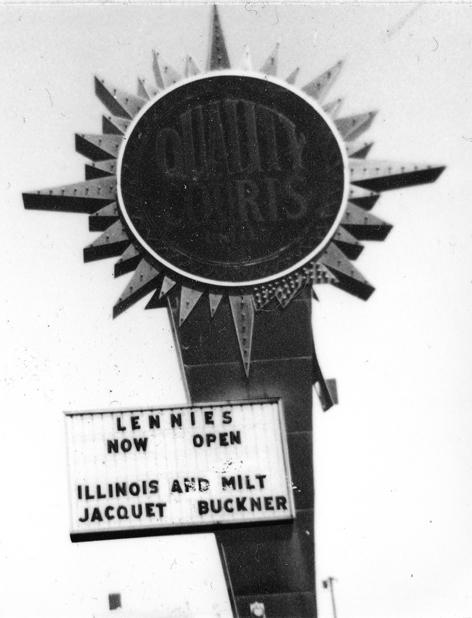 1966 lennies sign