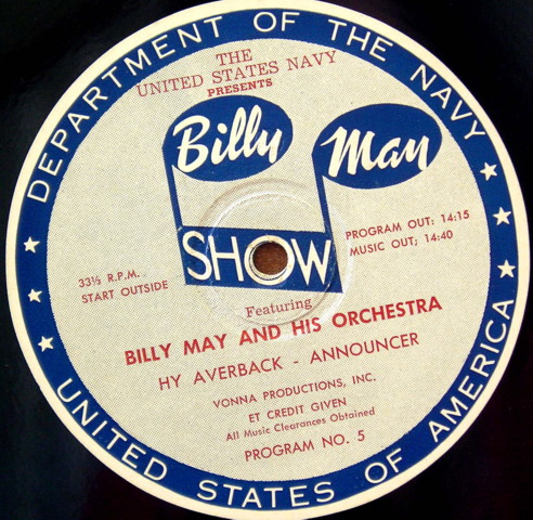 43 NAVY BILLY MAY