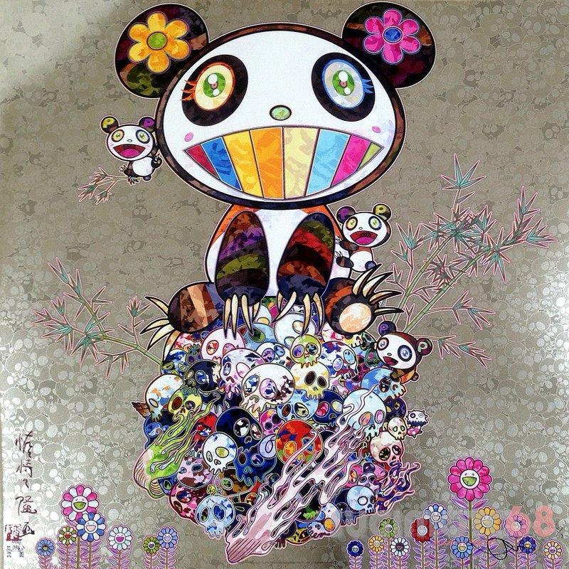 Takashi-murakami-panda-panda-cubs-800x800