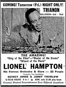 QuincyJones-HamptonAd_1951